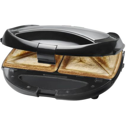 CLATRONIC Sandwichtoaster/Waffeleisen/Grill ST/WA 3490
