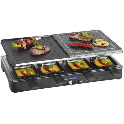 CLATRONIC Raclette-Grill RG 3518, mit heissem Stein