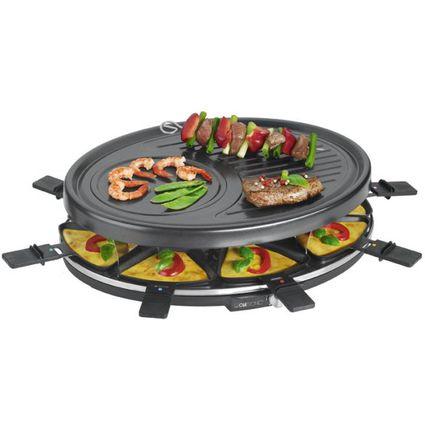 CLATRONIC Raclette-Grill RG 3517, mit 8 Pfännchen