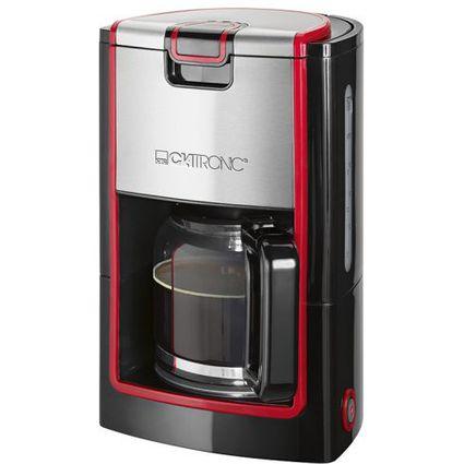 CLATRONIC Kaffeemaschine KA 3558, schwarz/rot