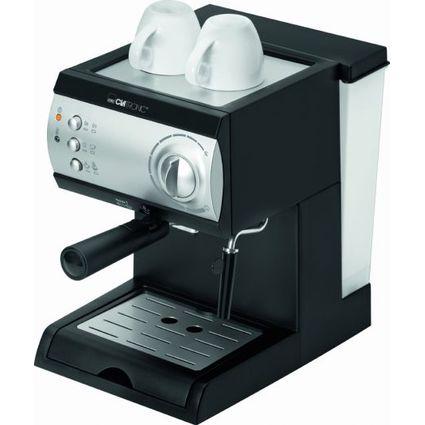 CLATRONIC Espressoautomat ES 3584, schwarz / silber
