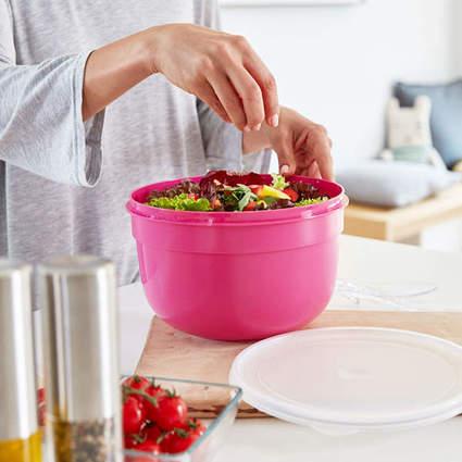 emsa Frischhaltedose SUPERLINE, 1,25 Liter, rund, pink