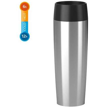 emsa Isolierbecher TRAVEL MUG Grande, 0,50 Liter, Edelstahl