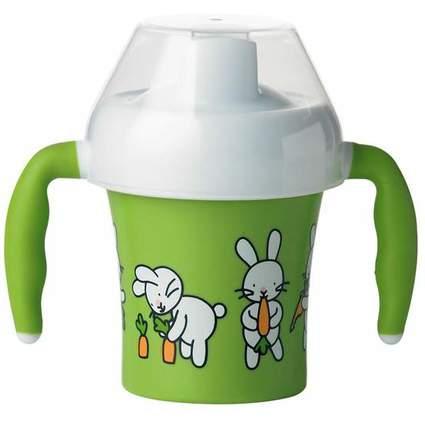 emsa Trinklernbecher FARM FAMILY, 0,2 Liter, grün