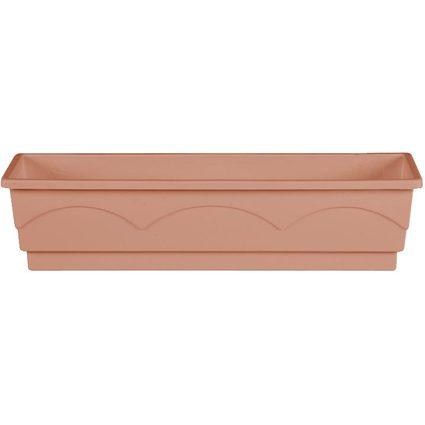 emsa Blumenkasten AQUA COMFORT LAGO, (B)500 mm, terracotta