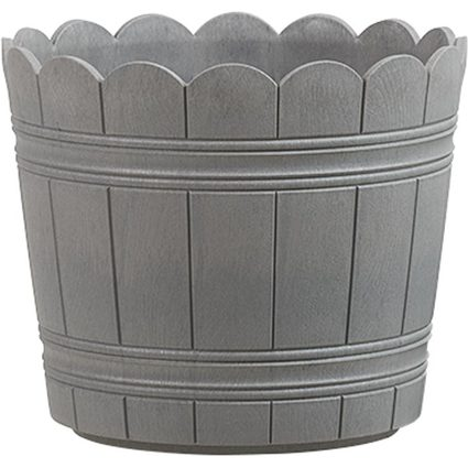 emsa Blumenkübel COUNTRY, Durchmesser: 300 mm, grau