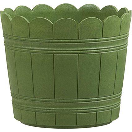 emsa Blumenkübel COUNTRY, Durchmesser: 300 mm, grün
