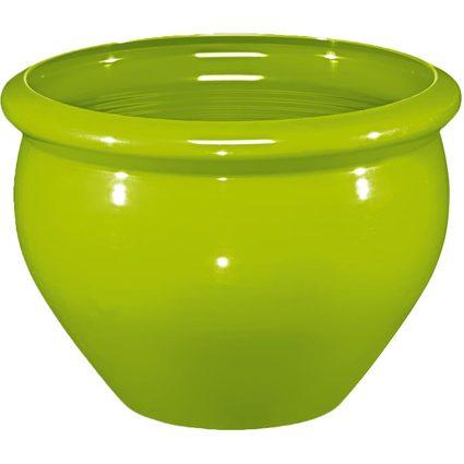 emsa Blumenkübel SIENA NOBILE, Durchmesser: 320 mm, grün
