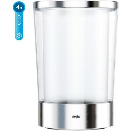 emsa Flaschenkühler FLOW Slim, Kunststoff/Edelstahl