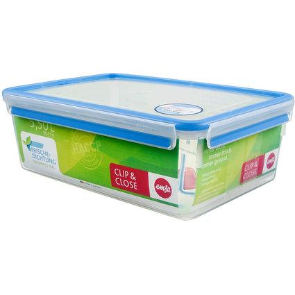 emsa Frischhaltedose CLIP & CLOSE, 5,50 Liter, transparent