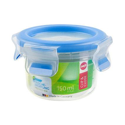 emsa Frischhaltedose CLIP & CLOSE, 0,15 Liter, transparent