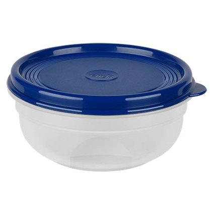 emsa Frischhaltedose SUPERLINE, 0,4 Liter, rund, blau
