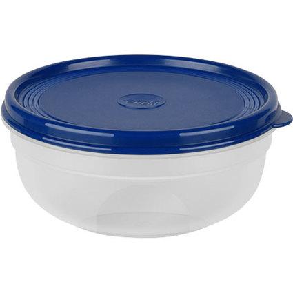 emsa Frischhaltedose SUPERLINE, 0,8 Liter, rund, blau