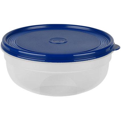 emsa Frischhaltedose SUPERLINE, 1,4 Liter, rund, blau