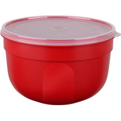 emsa Frischhaltedose SUPERLINE, 1,25 Liter, rund, rot
