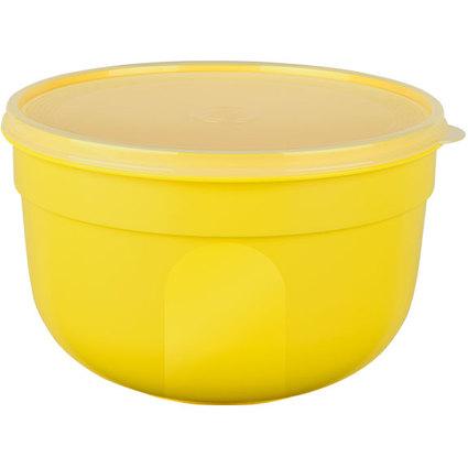 emsa Frischhaltedose SUPERLINE, 2,25 Liter, rund, gelb
