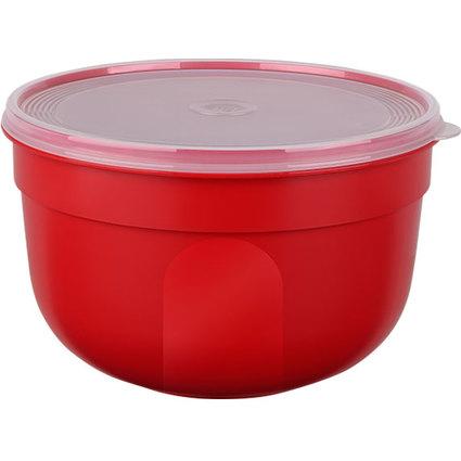 emsa Frischhaltedose SUPERLINE, 2,25 Liter, rund, rot