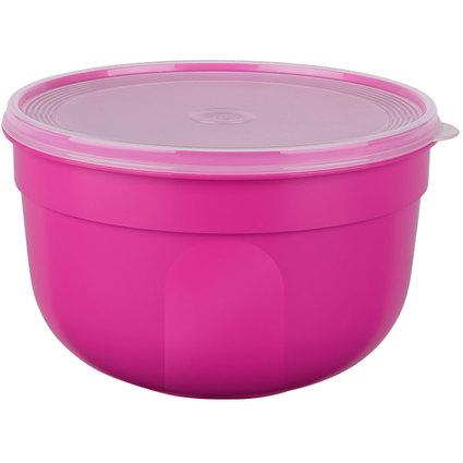 emsa Frischhaltedose SUPERLINE, 4,0 Liter, rund, pink