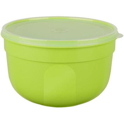 emsa Frischhaltedose SUPERLINE Colour, 4,0 Liter, rund, grün