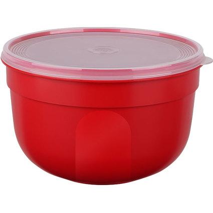 emsa Frischhaltedose SUPERLINE, 4,0 Liter, rund, rot