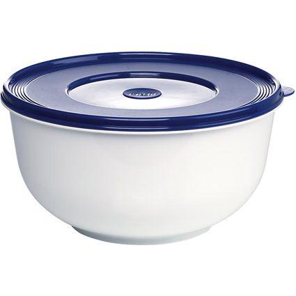 emsa Hefeteig-Schüssel SUPERLINE, weiß/blau, 5 Liter