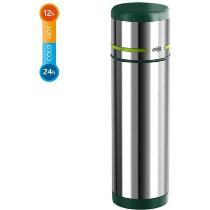 emsa Isolierflasche MOBILITY, 0,50 Liter, grün-hellgrün