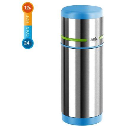 emsa Isolierflasche MOBILITY KIDS, 0,35 Liter, blau/grün