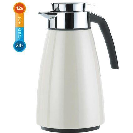emsa Isolierkanne BELL, 1,0 Liter, cremeweiß