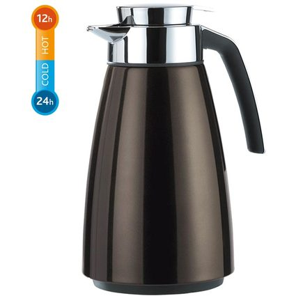 emsa Isolierkanne BELL, 1,0 Liter, chocolate metallic