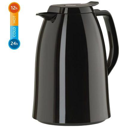 emsa Isolierkanne MAMBO, 1,5 Liter, hochglanz-schwarz
