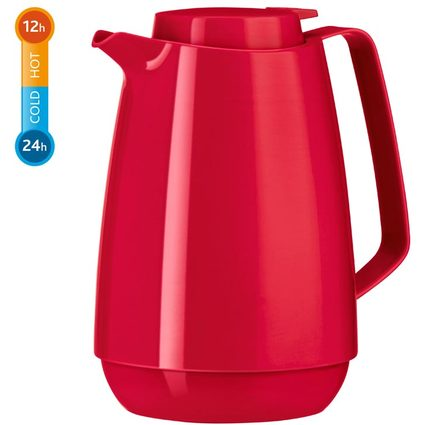 emsa Isolierkanne MOMENTO Coffee, 1,0 Liter, rot