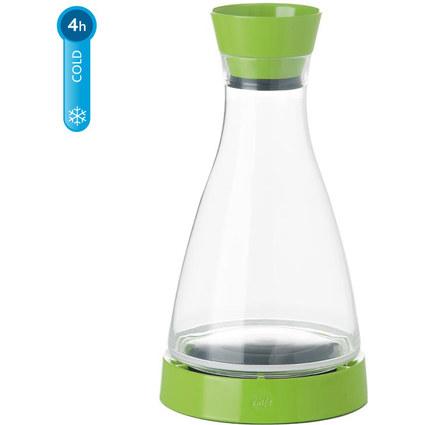 emsa Kühlkaraffe FLOW Friends, 1,0 Liter, hellgrün/klar