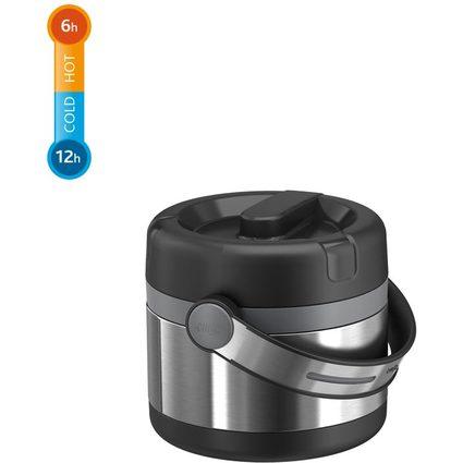 emsa Isolier-Speisegefäß MOBILITY, 0,65 Liter, schwarz/