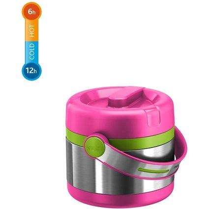 emsa Isolier-Speisegefäß MOBILITY KIDS, pink / grün