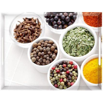 emsa Serviertablett CLASSIC, Motiv: Spices, 500 x 370 mm