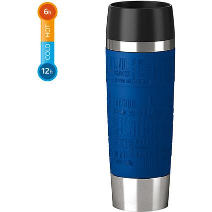 emsa Isolierbecher TRAVEL MUG Grande, 0,50 Liter, blau