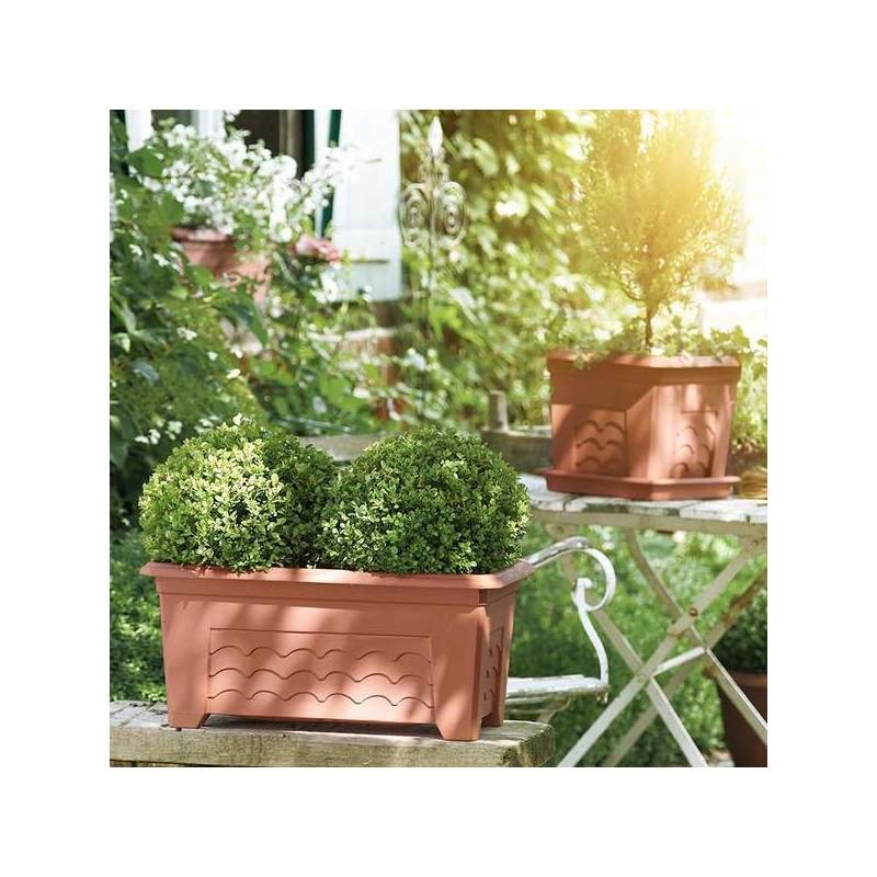 emsa blumenk bel terra grande 400 x 400 mm terracotta 985401400 bei g nstig. Black Bedroom Furniture Sets. Home Design Ideas