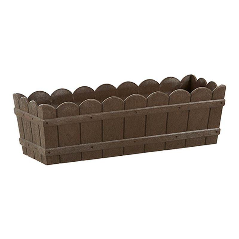 emsa blumenkasten country b 750 mm braun 515252 bei g nstig kaufen. Black Bedroom Furniture Sets. Home Design Ideas