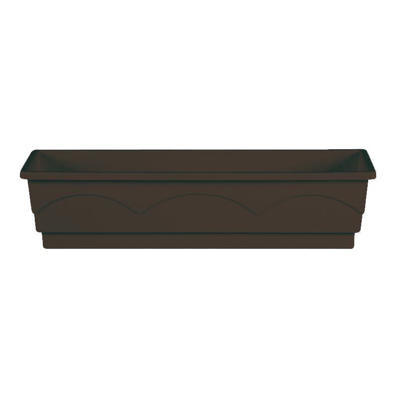 emsa blumenkasten aqua comfort lago b mm braun 503323 bei g nstig kaufen. Black Bedroom Furniture Sets. Home Design Ideas