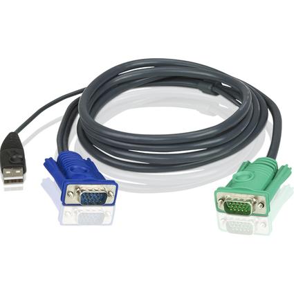 ATEN KVM USB Kabelsatz für KVM Switches CS-1708/1716, 1,8 m