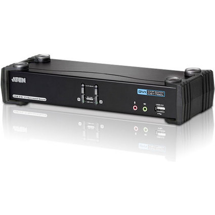 ATEN DVI Dual Link KVM Switch USB + DVI + Audio, 2-fach
