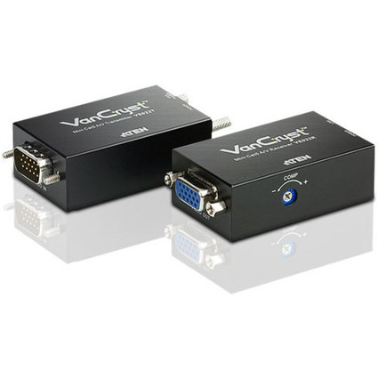 ATEN VanCryst Audio/Video Mini KVM Extender,150 m Reichweite