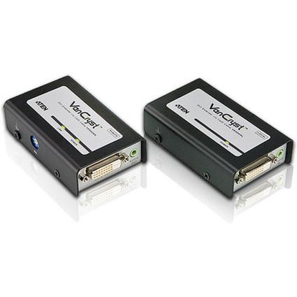 ATEN VanCryst DVI Signalverstärker, mit Audio