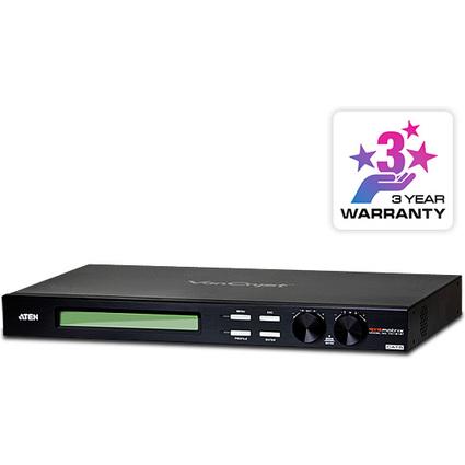 ATEN VanCryst VGA Matrix Switch, 16 Ein- & Ausgänge, schwarz