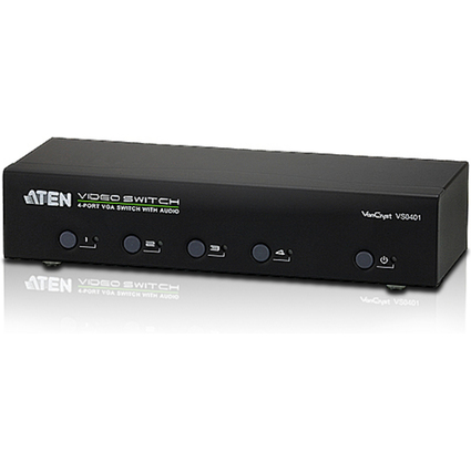 ATEN VanCryst VGA Switch, Audio/Video, 4-fach