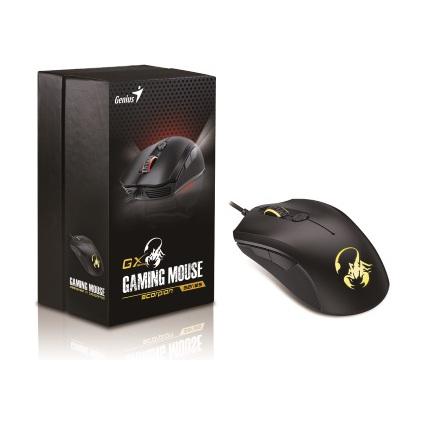 "Genius GX Gaming 6-Tasten Gaming Maus ""M6-600"",USB-Anschluss"