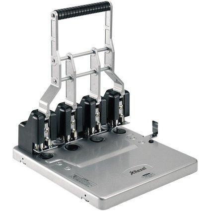 Rexel Vierfachlocher HD4150, schwarz/silber