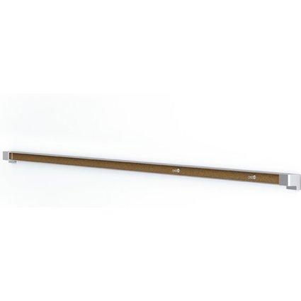 nobo Hängeschiene Prestige, silber, (L)1.200 mm