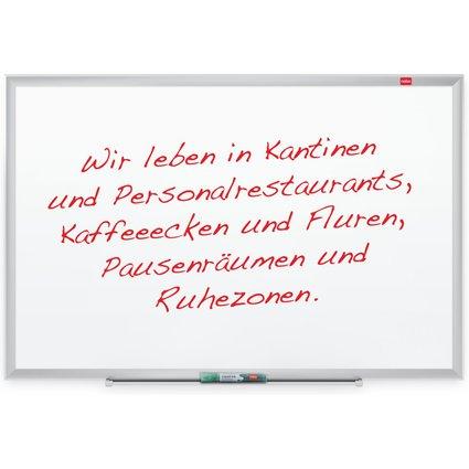 nobo Weißwandtafel EuroPlus, (B)621 x (H)464 mm - lackiert