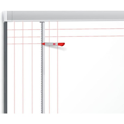 nobo Raster-Assistent Prestige, (L)1.200 mm, silber